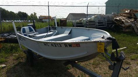 used aluminum row boats for sale in michigan grumman boats for sale
