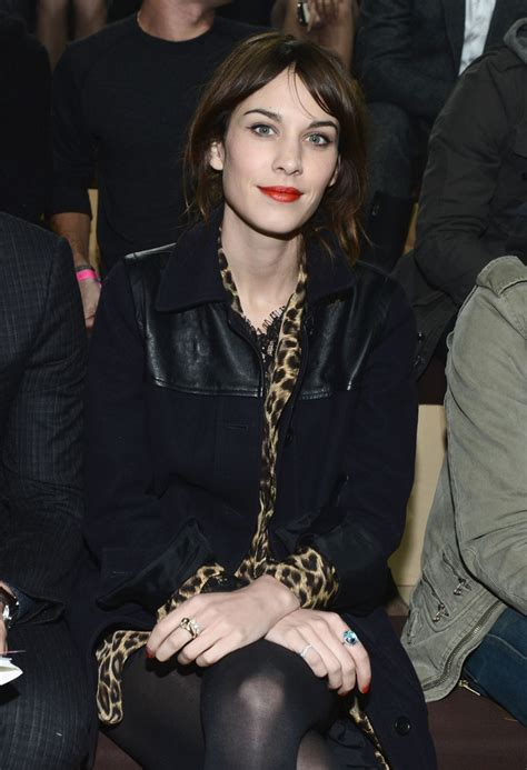 alexa secrets alexa chung photos photos 2012 victoria s secret fashion show front row zimbio
