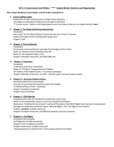 article 1 section 9 summary uncategorized constitution scavenger hunt worksheet