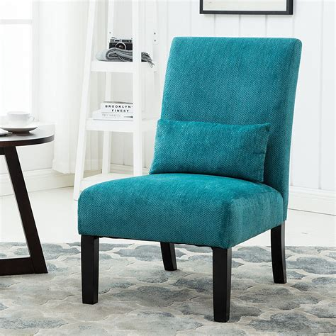 Teal Blue Accent Chair Picture 9 Of 14 Teal Accent Chair Awesome Roundhill Furniture Pisano Teal Blue Fabric Armless