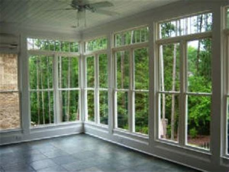 How To Install A Bow Window sun room windows atlanta