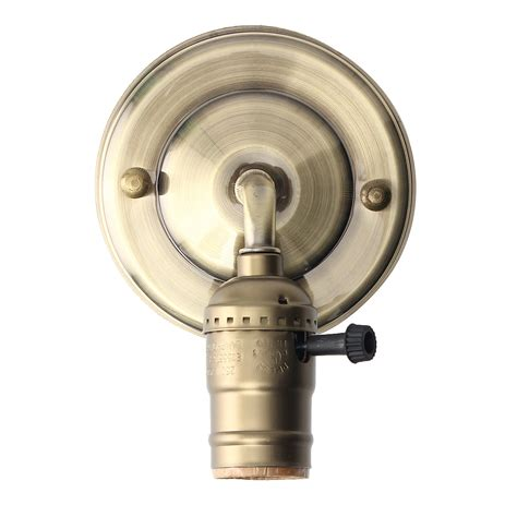 Light Fixture Switch E27 Antique Vintage Switch Type Wall Light Sconce L