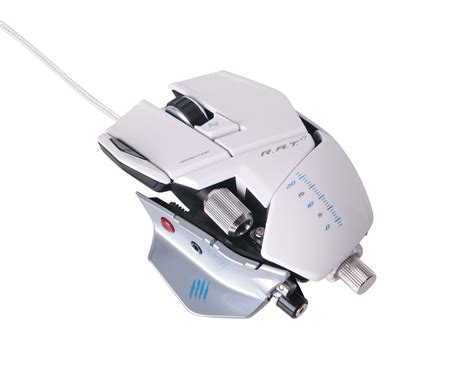 Mad Catz Rat 9 Gaming Mouse mad catz r a t 9 wireless mouse white gaming mus laser 7 knapper hvid