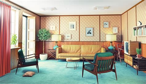 Home Interior Decorations Home Decor Through The Decades Part 1 The 70s
