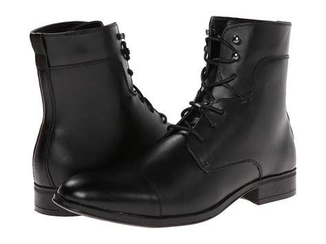 robert wayne boots robert wayne jonah black s lace up boots 89 95