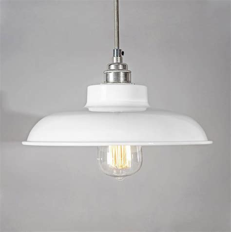 industrial dome pendant light dome industrial pendant light shade by bare bones lighting