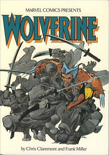 Wolverine Graphic 4 wolverine 1 b jul 1987 graphic novel trade by marvel