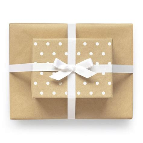 Craft Paper Wrapping - reversible wrapping paper kraft