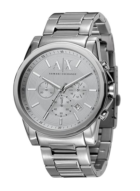 armani exchange ax2058 active mens in metallic for