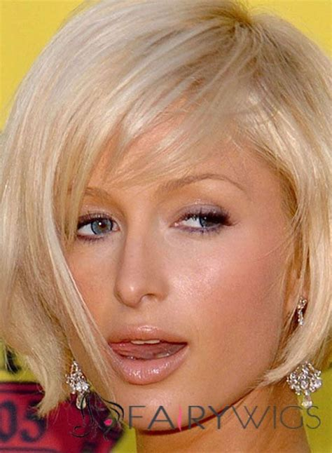 cheap haircuts paris inexpensive paris hilton hairstyle short straight capless