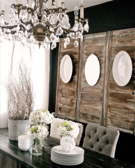 art decoration rustic dining room with ideas wall how to decorate with plates on a wall home stories a to z