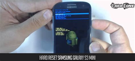 reset samsung mini hard reset samsung galaxy s3 mini