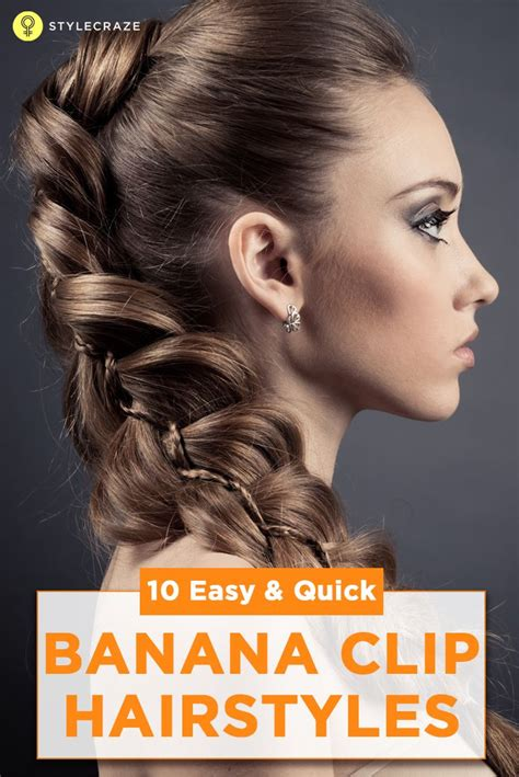 hairstyles using banana clips 25 best ideas about banana clip on pinterest banana