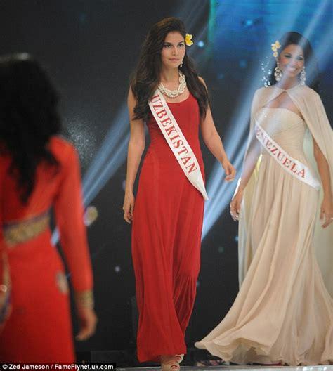 uzbek beauty uzbekistan has no idea who mystery of miss uzbekistan rakhima ganieva competes in