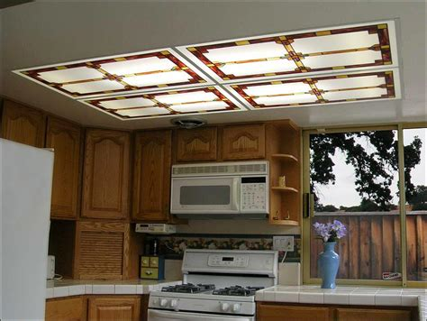 Kitchen Fluorescent Light Cover Fluorescent Kitchen Light Fixtures 3 Types Kitchen Design Ideas