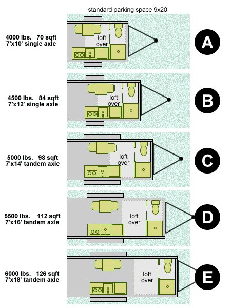 tiny house trailer floor plans size tiny house design