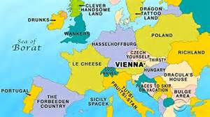 Vienna World Map by 14 Late Late Show Maps To Teach You World Geography Page