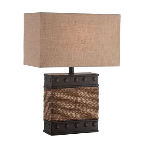 table ls with rectangular shades lite source sailor bronze table l with rectangle shade ls 22751 destination lighting