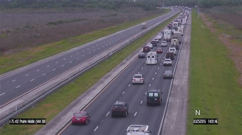 i 75 mile marker map florida two i 75 southbound lanes are open following