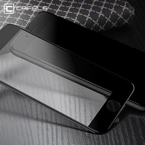 Cafele Anti Gores Tempered Glass 3d Iphone 7 7 Plus מוצר cafele for iphone 7 screen protector 3d soft edge cover tempered glass for iphone 7