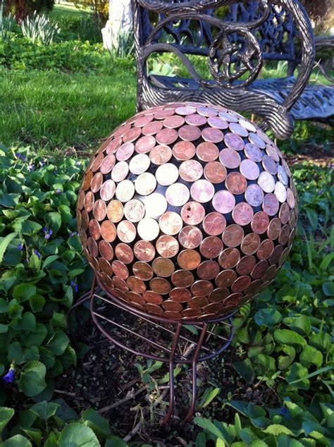 25 diy summer garden decoration ideas with bowling balls