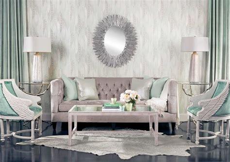 seafoam dream beckett sofa eclectic living room