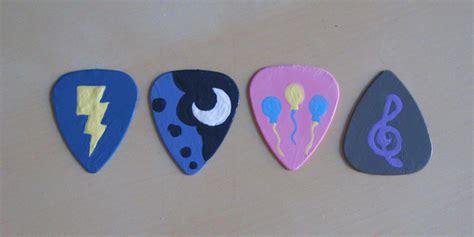 My Picks 4 by Pony Guitar Picks By Amandkyo Su On Deviantart