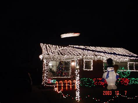 santa landing strip lights bazillion lights 2007