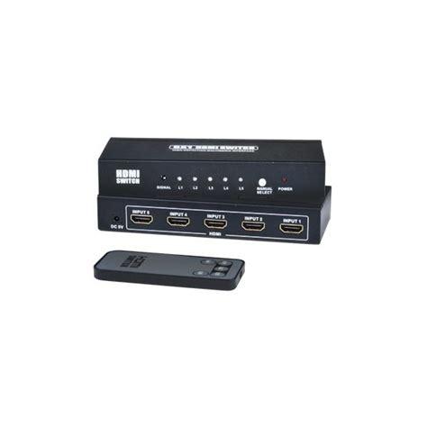 Hdmi Switch 3 Port Hd 1080p With Remote Se Hd 3 Lc 3 Port Hdmi Switch W Remote 1080p