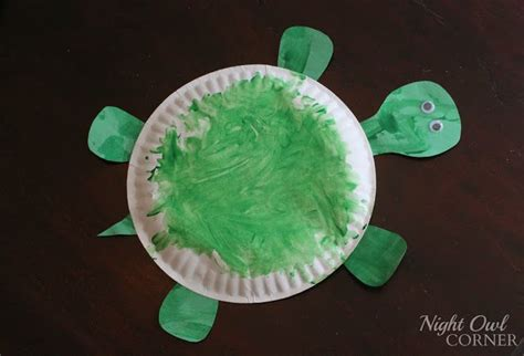 Paper Plate Turtle Craft - paper plate turtles kid stuff