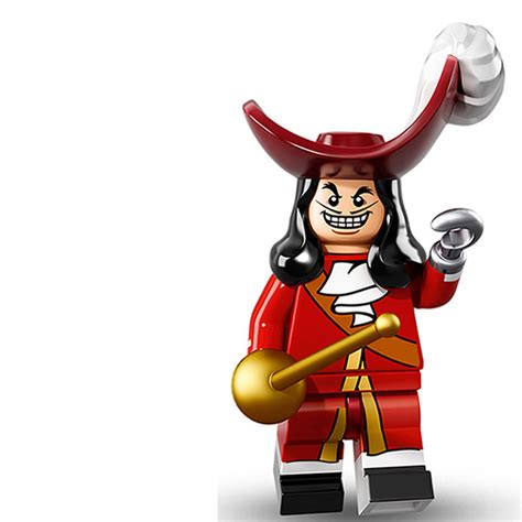 Minifigure The Disney Series lego minifigure serie disney capitan garfio lego