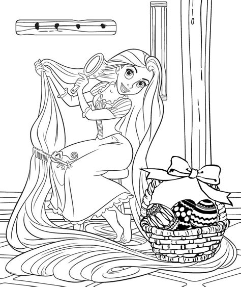 coloring book tangled and frozen for ages 4 10 books princess coloring pages