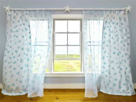 beach curtains for kitchen door windows beach themed window curtains beachy