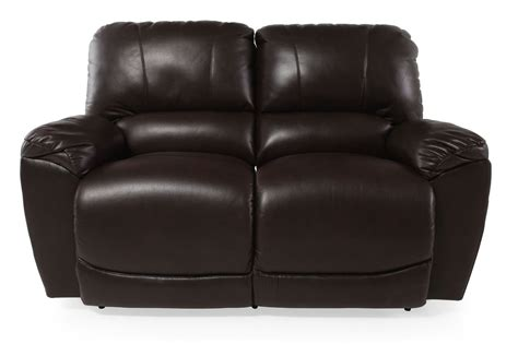 la z boy loveseat recliner la z boy tyler mahogany reclining loveseat mathis