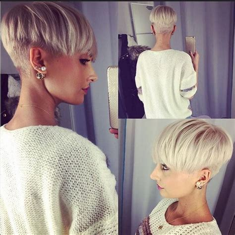 hairstyles for women with thick hair with shaved sided adorable pixie haircut ideas with bangs popular haircuts