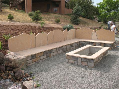rectangle fire pit castle rock douglas county colorado landscape design