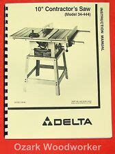 Delta 10 Bench Top Table Saw Motor 36 540 Type 1 4 Pn