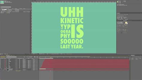Kinetic Typography Tutorial Photoshop | cool typography tutorials images