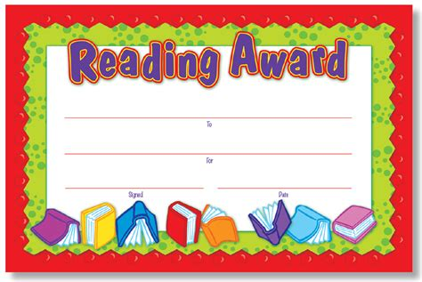 free printable star reader certificates north star teacher resources ns6004 reading award