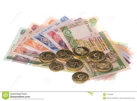 3d Home Map Design Online Sri Lankan Currency Isolated Royalty Free Stock Image
