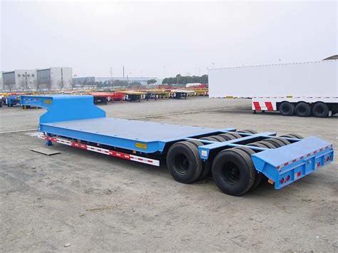 low bed trailer china low flat bed semi trailer china truck trailer