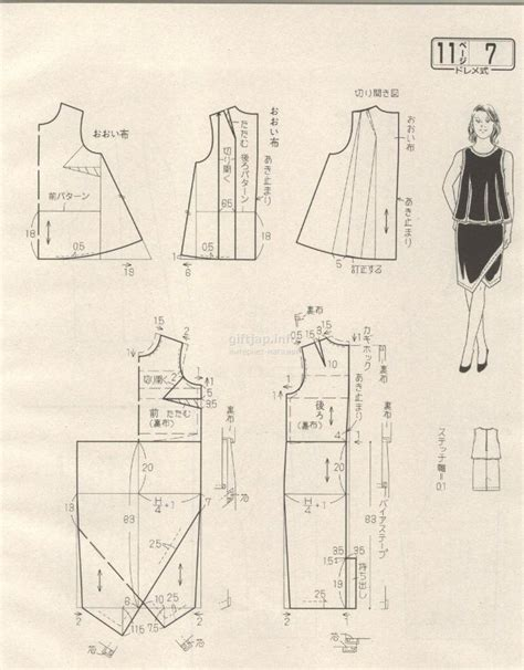 pattern drafting magazine 6927 best pola images on pinterest sewing patterns