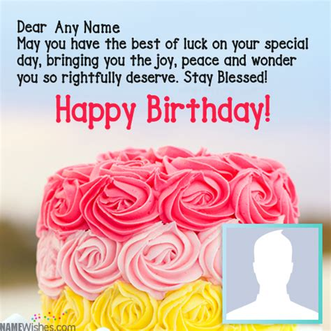 Happy Birthday Wishes With Name Best Happy Birthday Wishes With Name And Photo