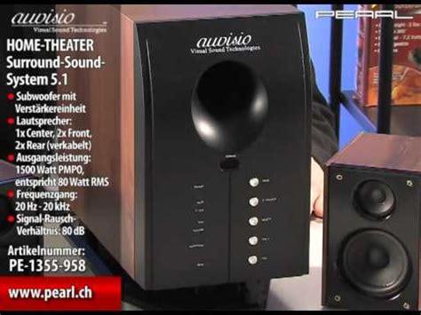 home theater surround sound system  mit fernbedienung