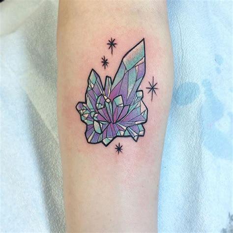 crystal rose tattoo best 25 gem ideas on tattoos with