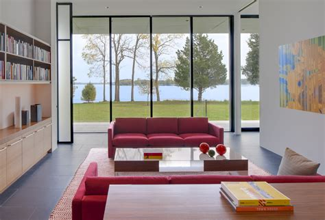 Home By The River tred avon river house robert m gurney architect archdaily
