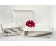 servizi da tavola moderni piatto rettangolare 187 acquista piatti rettangolari