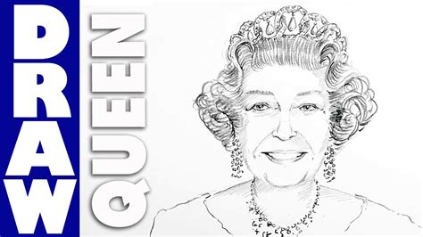 how to sketch how to draw elizabeth ii