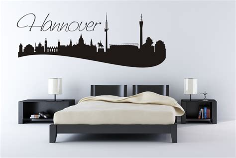 Folie Kaufen Hannover by Wandtattoo Quot Skyline Hannover Quot Online Bei Print It All Kaufen