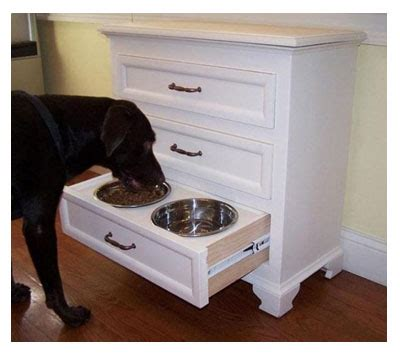 dog cabinet stylish and functional organizing for the dog owner food
